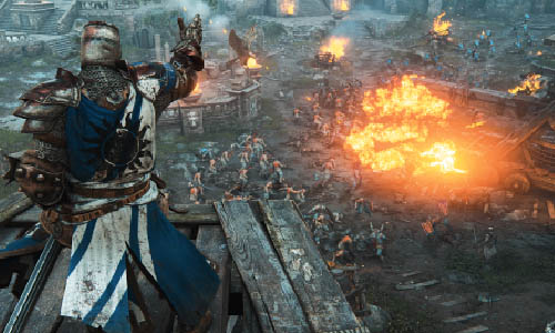 Alpha fermée For Honor Ubisoft résumé