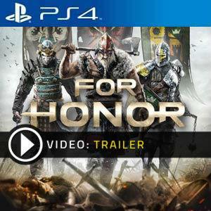 For Honor PS4 en boîte ou à télécharger