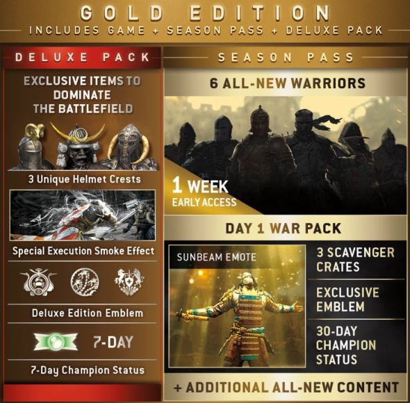 détails Season Pass For Honor