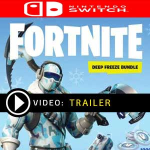 Fortnite Deep Freeze Bundle Nintendo Switch en boîte ou à télécharger
