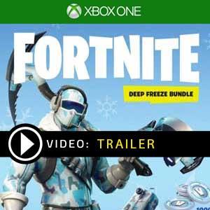 Fortnite Deep Freeze Bundle Xbox One en boîte ou à télécharger