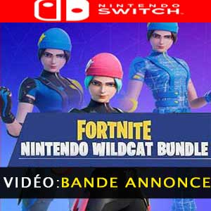 Fornite Wildcat Bundle Nintendo Switch Bande-annonce vidéo