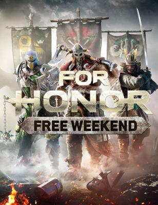 For Honor gratuit ce week-end !