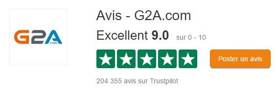 G2A trustpilot