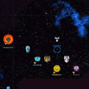 Galactic Civilizations 1 HUD