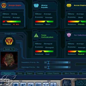 Galactic Civilizations 1 Gameplay