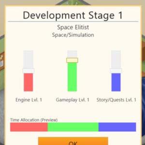 Game Dev Tycoon - Stade de développement