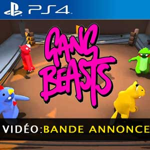 Gang Beasts PS4 Bande-annonce Vidéo