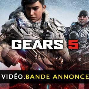 Gears of War 5 bande-annonce vidéo