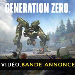 Generation Zero Bande-annonce Vidéo