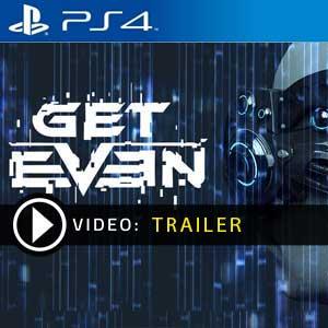 Get Even PS4 en boîte ou à télécharger