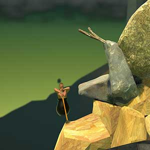 Getting Over It with Bennett Foddy -master hikers