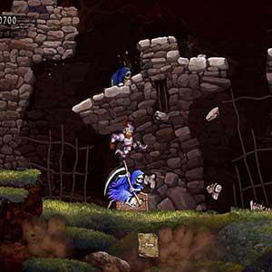 Ghosts n Goblins Resurrection Assassinat De Squelettes