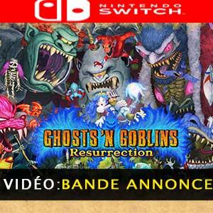 Ghosts n Goblins Resurrection Nintendo Switch Bande-annonce Vidéo