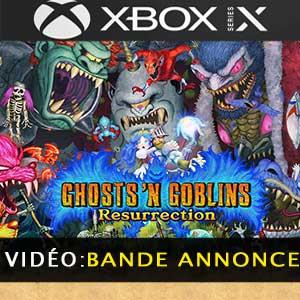 Ghosts n Goblins Resurrection Xbox Series X Bande-annonce Vidéo