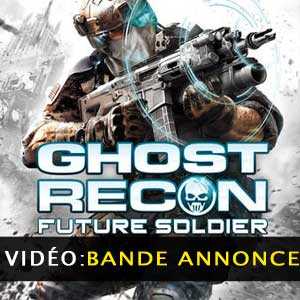 Ghost Recon Future Soldier Bande-annonce vidéo