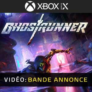 Ghostrunner Xbox Series X Trailer Video