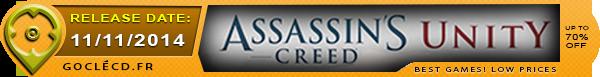 Date de sorties de Assassin's Creed Unity