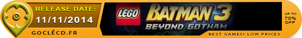 Date de sortie de Lego Batman Beyond Gotham