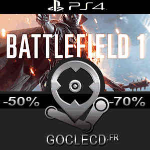 acheter battlefield 1 ps4 code comparateur prix. Black Bedroom Furniture Sets. Home Design Ideas