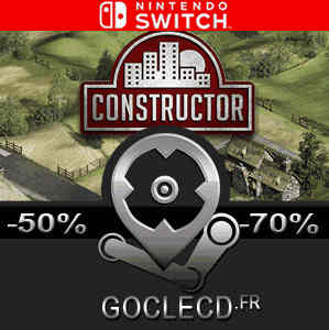 acheter constructor nintendo switch comparer les prix. Black Bedroom Furniture Sets. Home Design Ideas
