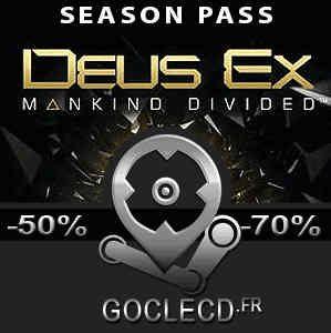 Deus Ex Mankind Divided Season Pass