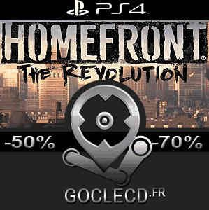 acheter homefront the revolution ps4 code comparateur prix. Black Bedroom Furniture Sets. Home Design Ideas