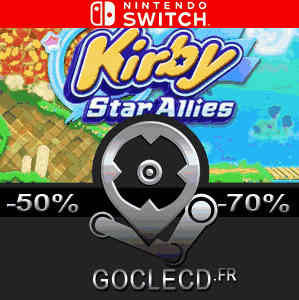 acheter kirby star allies nintendo switch comparateur prix. Black Bedroom Furniture Sets. Home Design Ideas
