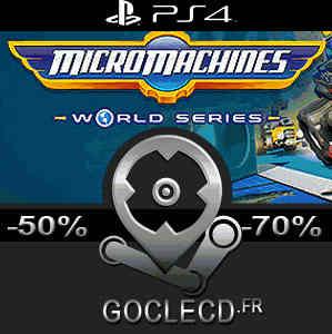 Acheter micro machines world series ps4 code comparateur prix - Comparateur de prix playstation 4 ...