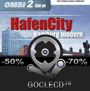 OMSI 2 HafenCity Hamburg modern Add-On