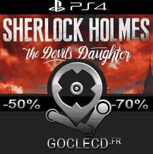 acheter sherlock holmes the devils daughter ps4 code comparateur prix. Black Bedroom Furniture Sets. Home Design Ideas