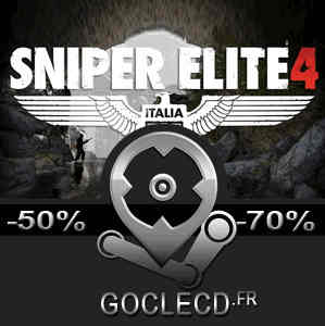 acheter sniper elite 4 cl cd au meilleur prix. Black Bedroom Furniture Sets. Home Design Ideas