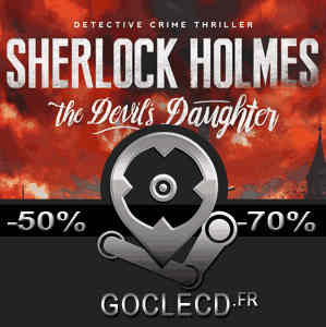 acheter sherlock holmes the devils daughter cl cd au. Black Bedroom Furniture Sets. Home Design Ideas