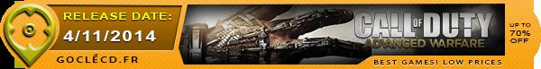Date de sorties de Call of Duty Advanced Warfare