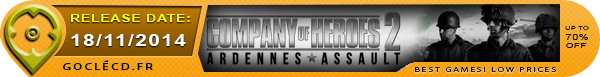 Date de sortie de company of heroes 2 Ardennes Assault