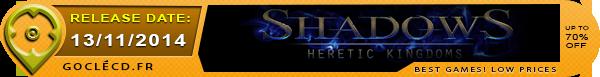 Date de sortie de Shadow Heretic Kingdom