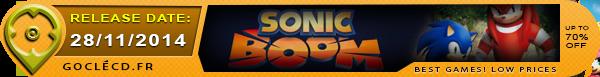 Date de Sortie de Sonic Boom