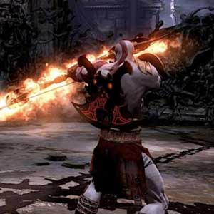 God of War 3 Remastered PS4 attaque