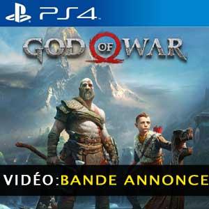 God of War PS4 Bande-annonce vidéo