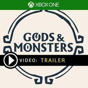 Gods & Monsters Xbox One en boîte ou à télécharger
