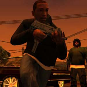 Grand Theft Auto San Andreas Armes