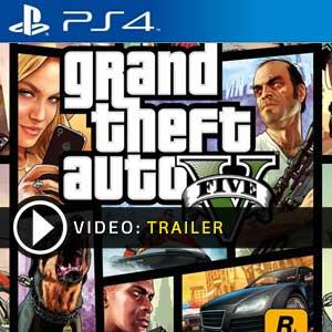 Grand Theft Auto 5 PS4 en boîte ou à télécharger