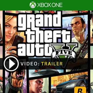 Grand Theft Auto 5 Xbox One en boîte ou à télécharger