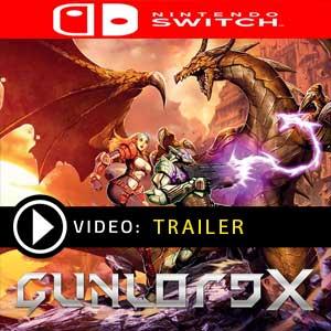Gunlord X Nintendo Switch en boîte ou à télécharger