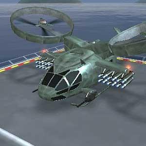 Gunship - Atterrissage