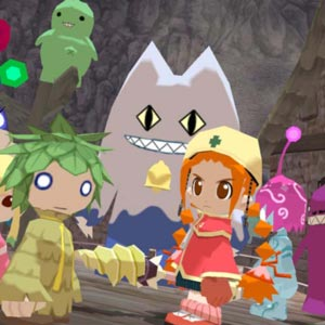 Gurumin A Monstrous Adventure Personnages