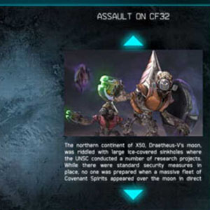Halo Spartan Assault Carte