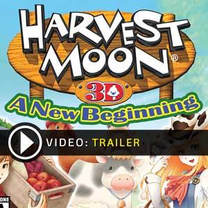 Harvest Moon 3D A New Beginning Nintendo 3DS en boîte ou à télécharger
