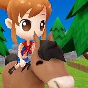Harvest Moon The Lost Valley Nintendo 3DS Monter à cheval