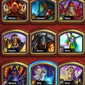 Hearthstone Heroes of Warcraft Deck of Cards Heroes
